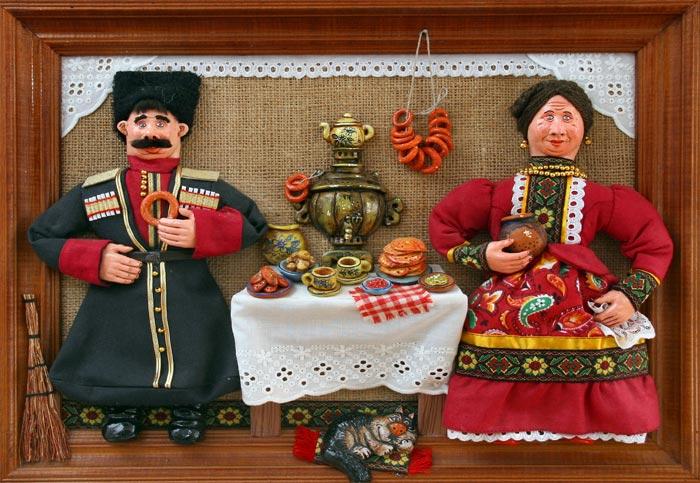 Кукла в казачьем костюме своими руками